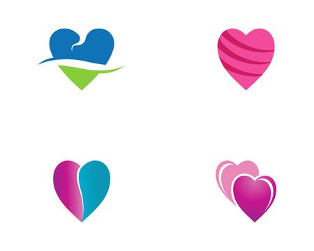 Love Logo Vector Template