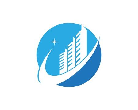 Real estate logo vector template