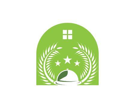 Restaurant icon logo vector template