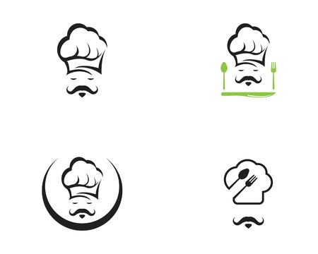 Chef icon logo vector template