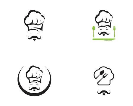 Chef icon logo vector template