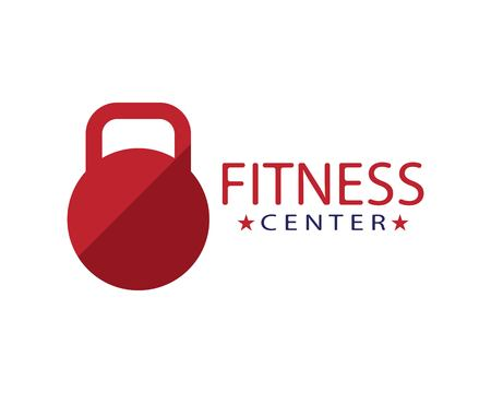 Fitness center logo template