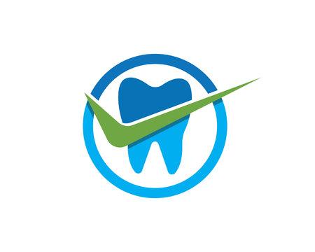 Health dental care logo vector template Logo