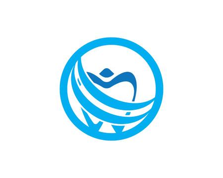 Health dental care logo vector template