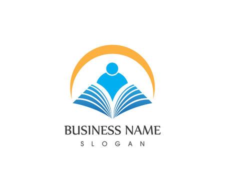 Education logo design vector