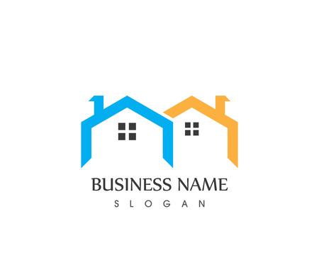 Building home logo vector template