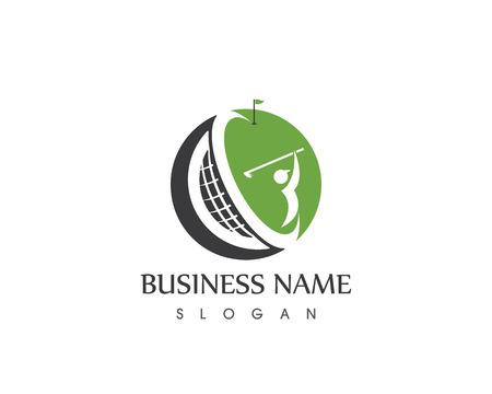 Golf logo vector template
