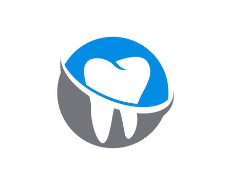 Health Dental Logo Design Template Banco de Imagens - 113857686