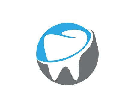 Health dental care logo vector template Banco de Imagens - 113857610