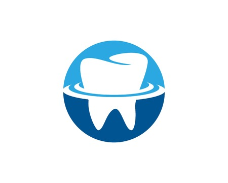 Health dental care logo vector template Banco de Imagens - 113857618