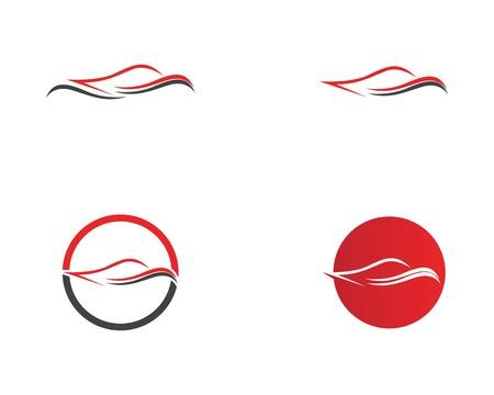 Auto car logo vector template