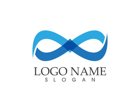 infinity logo and symbol template