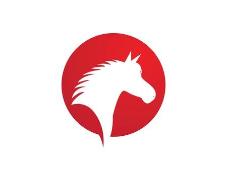 Horse Template Vector