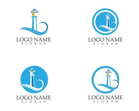 Light House Logo Template Logo