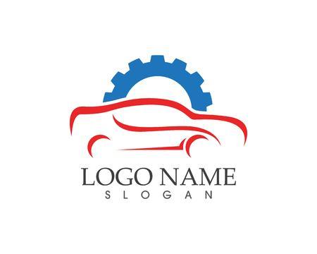 Modello di progettazione del logo per auto auto Auto