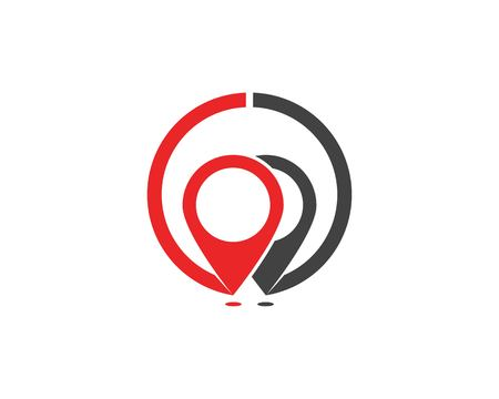 Location point logo