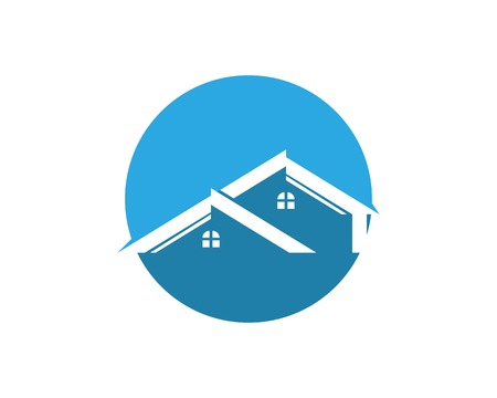 Real estate and building home logo template
