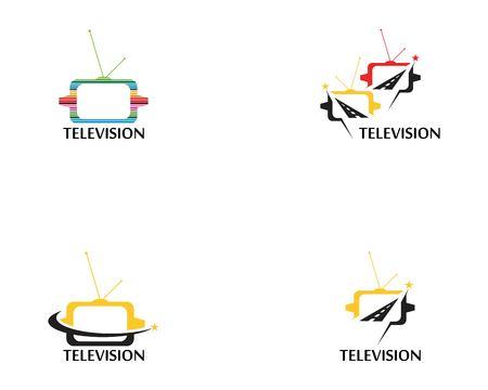 television logo vector template Logo
