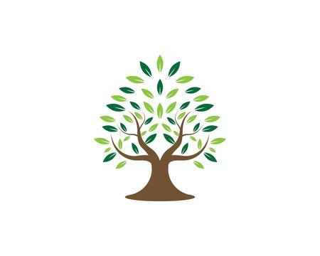 Tree logo vector illustration Stock Vector - 116365679