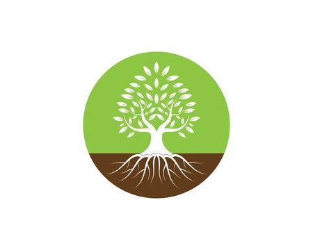 Tree logo vector illustration Stock Vector - 116365685