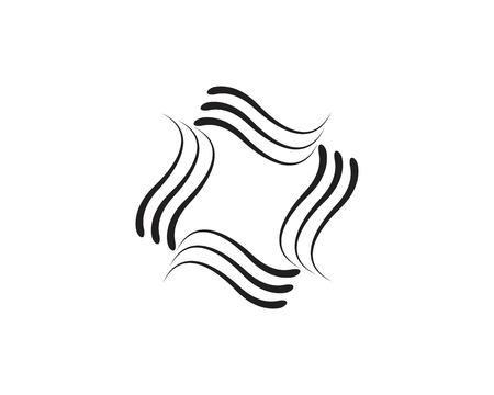 Hair logo template vector Logos