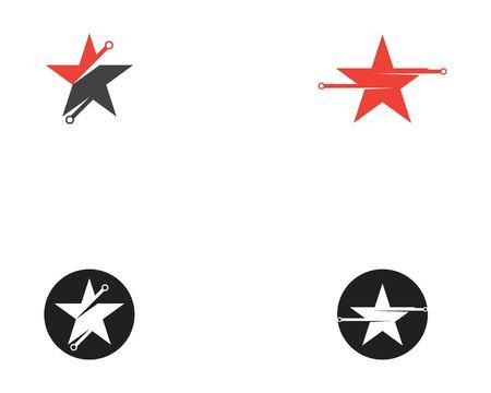Star tech icon template