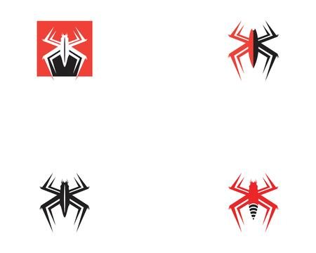 Spider icon vector illustration Illustration