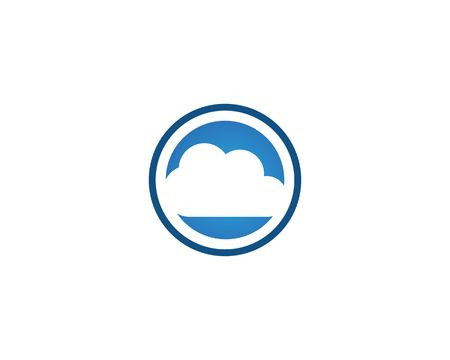 Cloud icon vector template