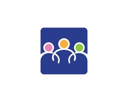 Community care logo design concept