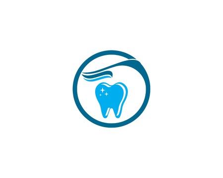 Health dental care logo template