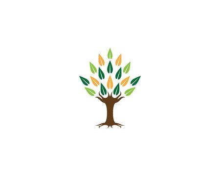 Tree icon vector illustration Illustration