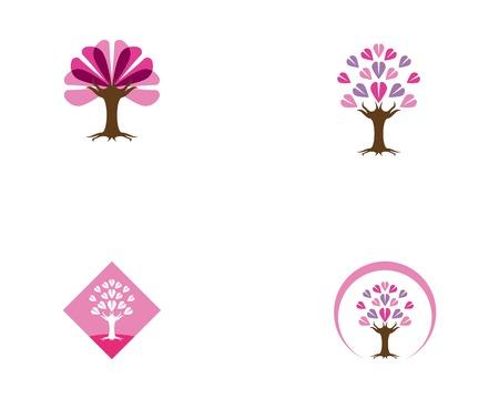 Love tree icon vectorillustration