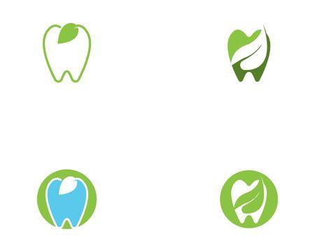 Dental logo template Vettoriali
