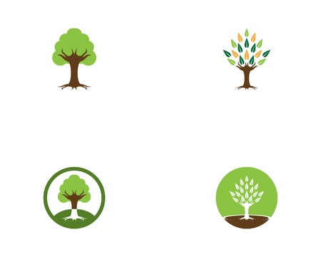 Trees icon vector template Stock Vector - 118542976