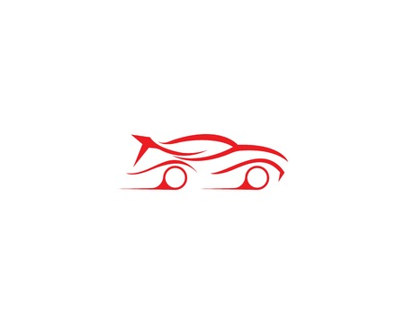 Auto car service logo template
