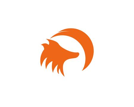 Fox icon logo template Banque d'images - 119085993