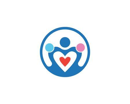 Adoption icon and symbol logo