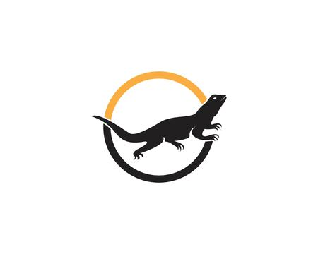 Lizard icon vector illustration