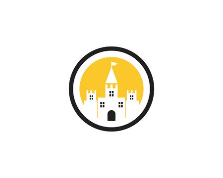 Castle icon vector illustration Standard-Bild - 121250836