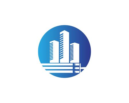 Building paint logo design vector
