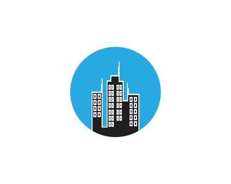 Building construction logo vector template