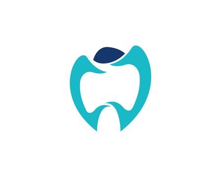 Health dental care logo vector