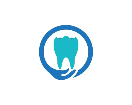 Health dental care logo vector