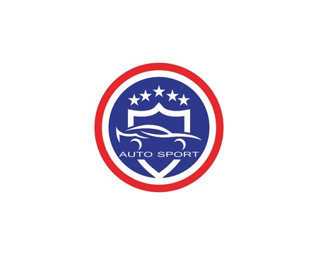 Auto car logo design vector Illustration