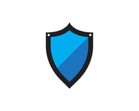 Security guard design vector shield template