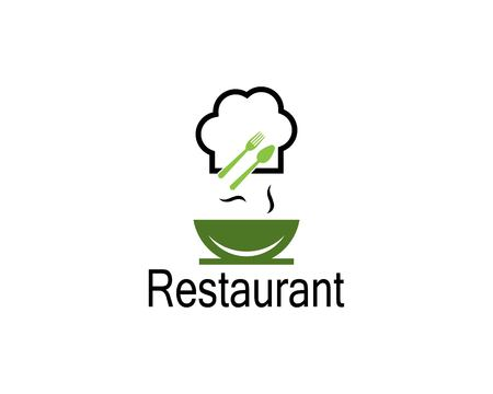 Restaurant icon logo vector illustration Vectores