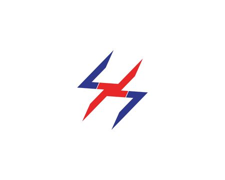 Lightning power flash logo vector Иллюстрация