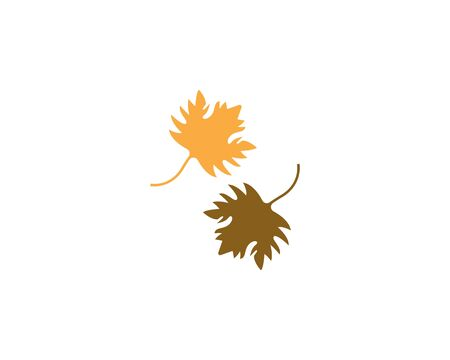 Green leaf nature ecology icon and symbol vector illustration