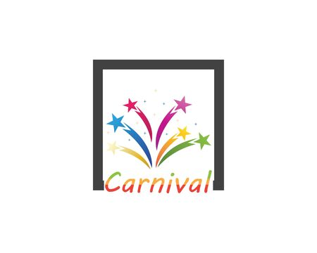 Carnival party circus icon and symbol vector illustration