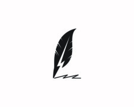 feather pen write icon and symbol vector illustration Illustration
